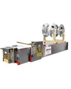 KWM Ironman 5/6 Inch Combo Gutter Machine - 7020