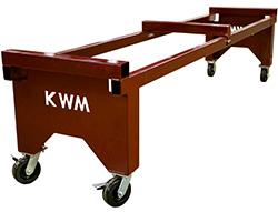 NTM Gutter Machine Cart Assembly
