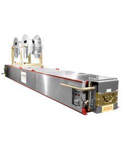 KWM Gutterman IronMan 6 Inch Half-Round Gutter Machine - 10000
