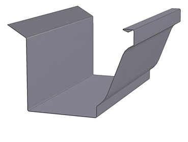 KWM K-Style with Wing Gutter Profile